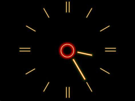 Animated Wall Clock Wallpaper - animated clock desktop wallpapers wallpapersafari