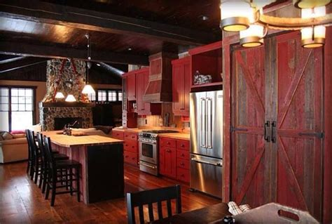 Kitchen Barn by This Kitchen Those Barn Doors Are Just