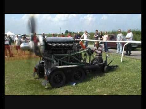 rolls royce merlin static engine run youtube