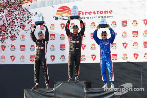 podium  place  power team penske chevrolet