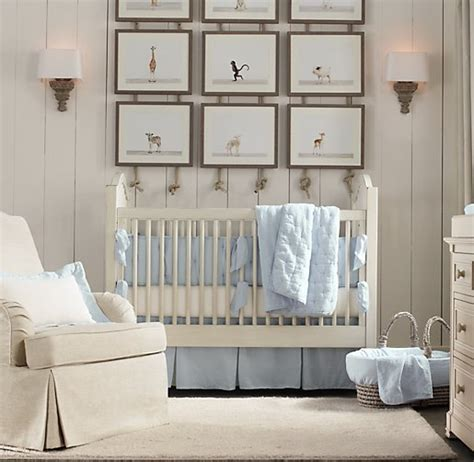 restoration hardware crib bedding baby animal portraits restoration hardware baby