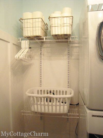 wire shelf washer and dryer 17 best images about laundry room organization on