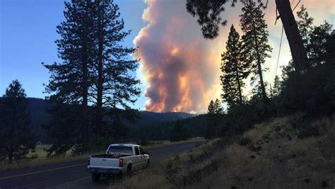 plumas county fires acres
