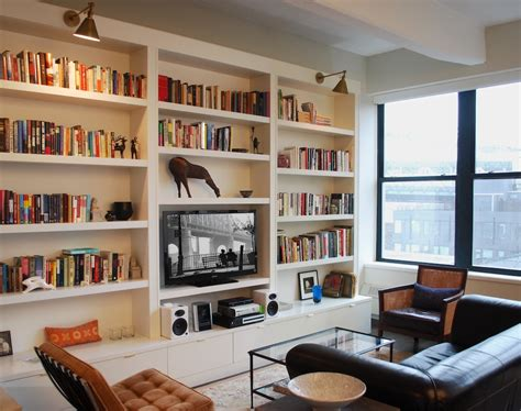 15 Best Collection Of Whole Wall Bookshelves