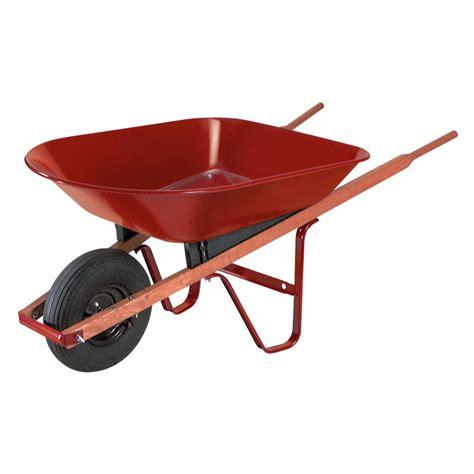 ames  cu ft steel homeowner wheelbarrow  hayneedle