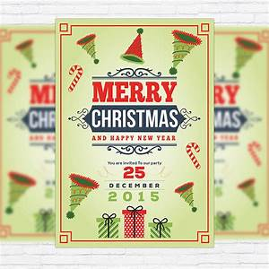 Holiday Toy Drive Flyer Template Happy Christmas Premium Flyer Template Exclsiveflyer