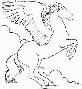 Pegasus Coloring Pages - ColoringPagesABC.com