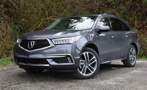 2018 Acura Mdx Sport Hybrid Now In Us Dealers From $53,095