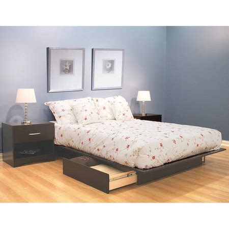 635 walmart platform bed south shore soho storage platform bed with 2