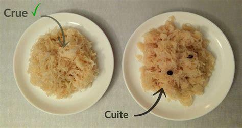 cuisiner choucroute cuite la choucroute crue un véritable remède pour votre santé et votre corps manger vivant