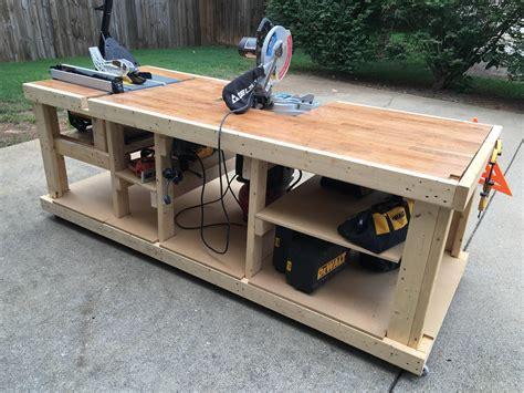 built  mobile workbench derevoobrabatyvayushchiy verstak