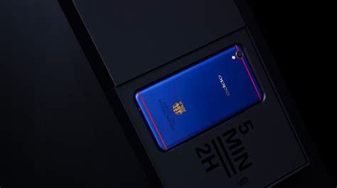 oppo f1 plus fc barcelona edition is official is actually