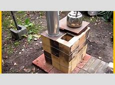 [Video] Brilliant DIY Your Own Brick Box Rocket Stove