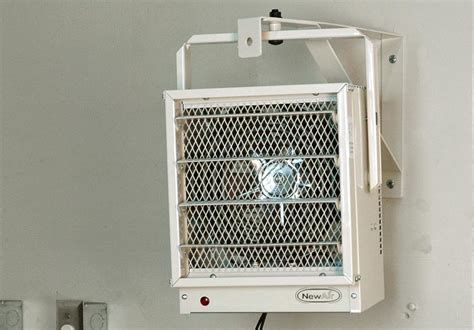 garage space heater newair g73 electric garage heater safe and reliable heat