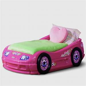 Race Car Toddler Bed Pink : Popularity of Race Car Toddler ...
