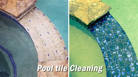 pool tile cleaning project details