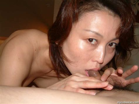 My Cute Asian Sexy Japanese Amateur Wife Gives A Blowjob