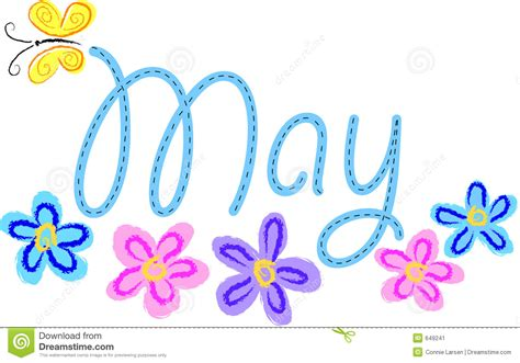 May Clip May Flowers Clipart Panda Free Clipart Images