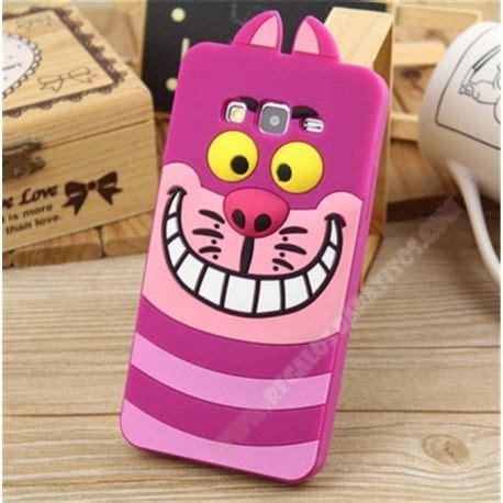 capa de silicone monstro carcasa divertida silicona 3d diseño gato sonriendo para