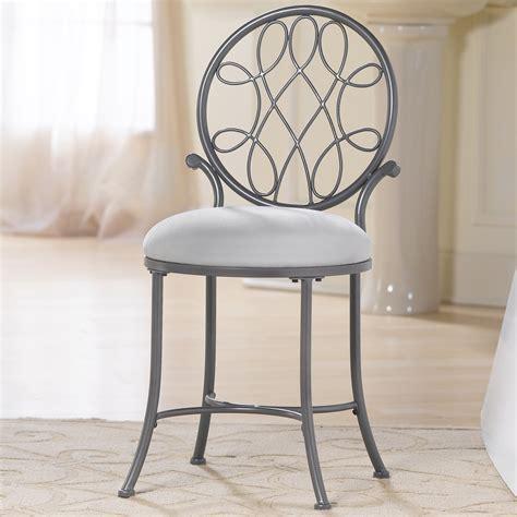hillsdale omalley vanity stool reviews wayfair