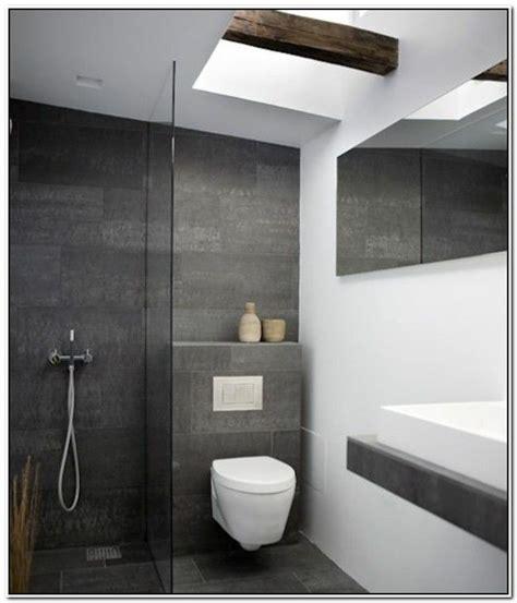 badezimmer fliesen ideen grau bad
