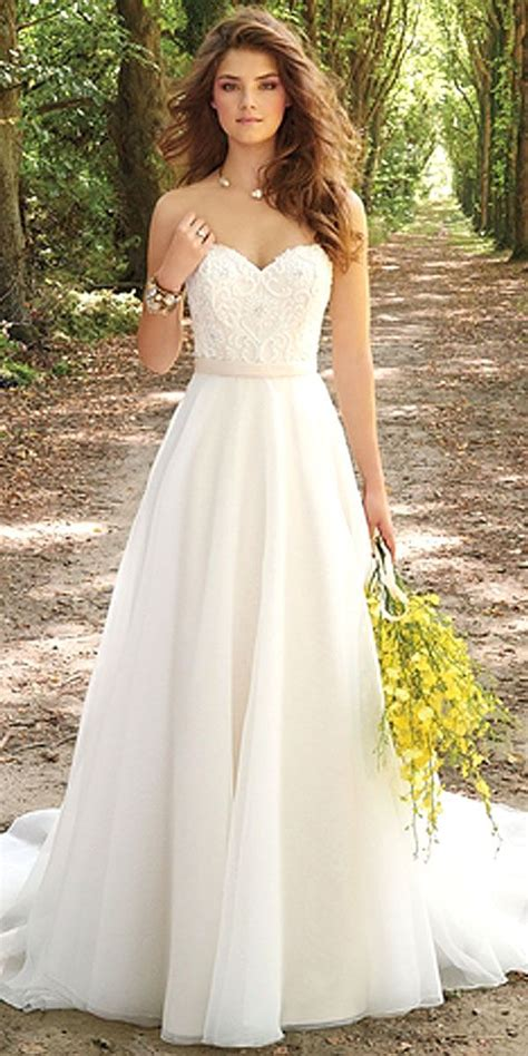 30 Simple Wedding Dresses For Elegant Brides Beautiful