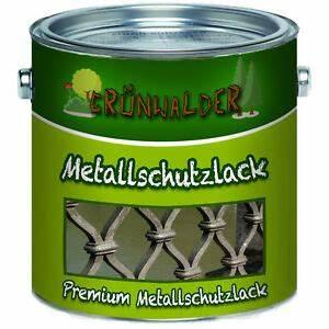Lack Ral 7016 Anthrazitgrau : gr nwalder premium metallschutzfarbe lack 1l 2 5l 5l 10l ral 7016 anthrazitgrau ebay ~ A.2002-acura-tl-radio.info Haus und Dekorationen