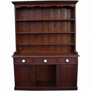 Antique Furniture Victorian Pine Dresser From
