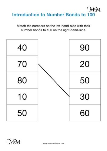number bonds   teaching resources