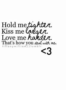 Just Kiss Me Quotes. QuotesGram