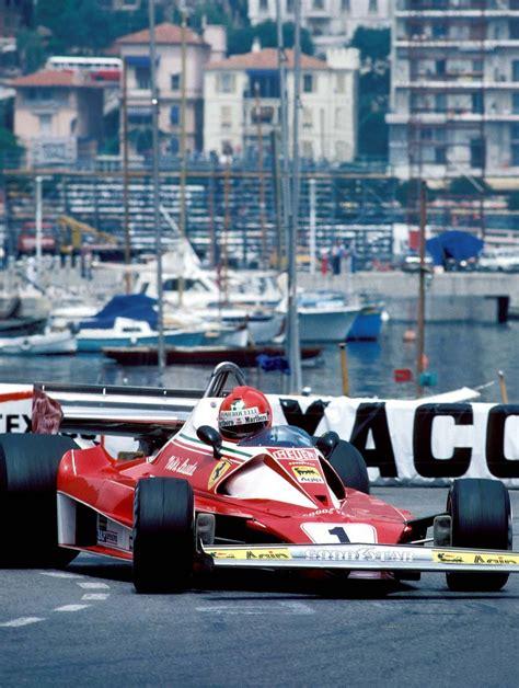 It's now over 30 years since niki lauda's horrific accident at the 1976 german grand prix held at the nürburgring. Niki Lauda, Ferrari 312 T2, 1976 Monaco GP | F1: 1970s | Pinterest | Monaco, Grand prix and Ferrari