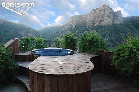 deck   hot tub  spa decks hottubworks blog