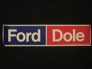 bob dole bumper sticker b bill39s political shoppe With kitchen cabinets lowes with democrat bumper stickers