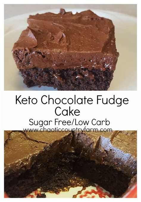 We wanted to create an easy to make low carb keto friendly recipe that's thick and sweet just like the original. Keto Chocolate Fudge Cake, Sugar Free, Low Carb Chocolate ...