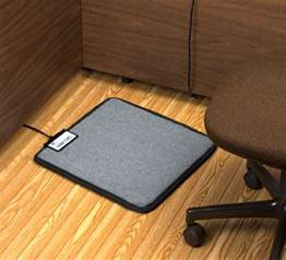 Floor Mat For Office Chair On Carpet by Foot Warmer Mat For Under Your Desk