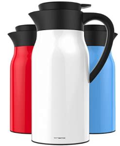 List of best thermal coffee carafes in 2021. Top 12 Best Thermal Carafes in 2020 Review (With images) | Coffee carafe, Coffee thermos ...