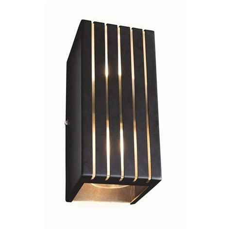 brilliant 240v charcoal orelia up down light lighting