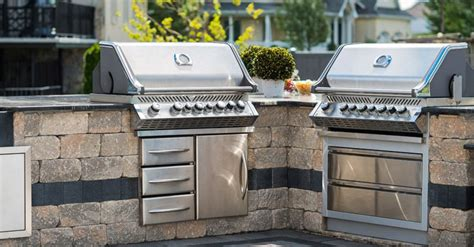 outdoor barbecue kitchen designs matching grill island bar and seating options for outdoor 3815
