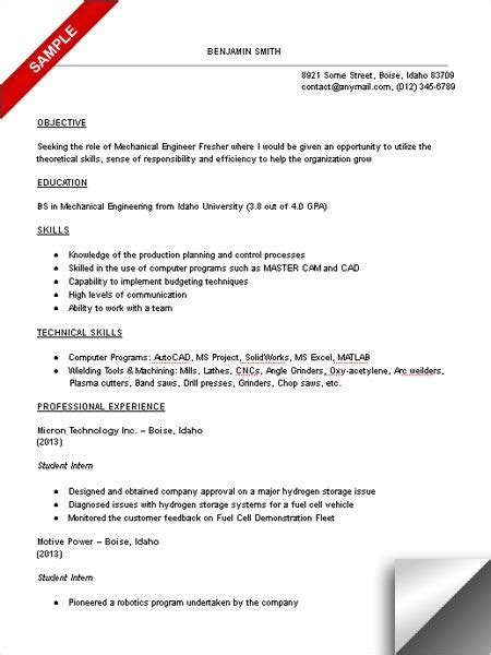 Mechanical Resume Objective by Pin By Resumejob On Resume Engineering Resume