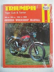 New Triumph Tiger Cub Terrier Haynes Workshop Manual T20
