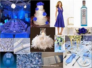royal blue silver white wedding decorations http With royal blue wedding ideas