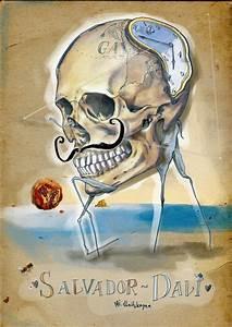 tattoo idea - skull// salvador dali   Dali   Pinterest