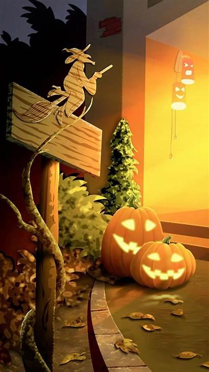 Halloween Iphone Backgrounds Wallpapers Pumpkin Haloween Android