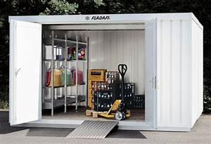 Container Als Gartenhaus : isolierte materiallagerung mit isolierten lagercontainern containerkombinationen und regallagern ~ Sanjose-hotels-ca.com Haus und Dekorationen
