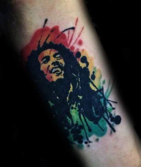 bob marley tattoos  men jamaican design ideas