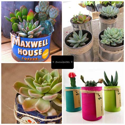 Latas Para Decorar Con Plantas  Ideas ;d Pinterest