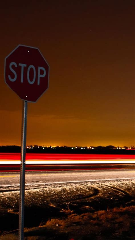 iphone  wallpapers hd stop signs iphone  wallpaper