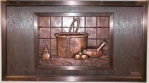 kitchen backsplash tile murals idea kitchen backsplash design unique cast metal murals kitchen designs by
