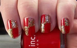 Most beautiful glitter nail art ideas
