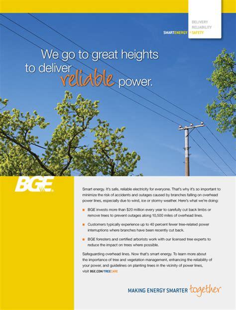 tree care baltimore gas  electric company